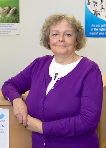 Margaret, Receptionist